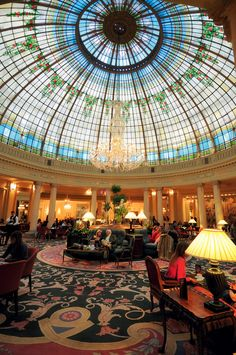 Palace Hotel in Madrid, Spain Hotels And Resorts, Best Hotels, Places Around The World, Around The Worlds, Places Ive Been, Places To Go, Palace Hotel, Grand Hotel, Culture Travel