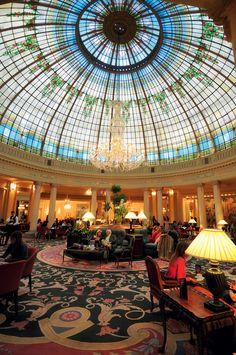 El hotel Palace fue convertido en hospital durante la Guerra Civil. Madrid