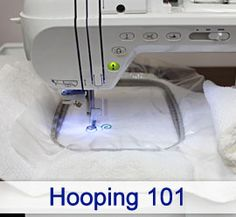 Hooping 101-#3 Proper hooping results in crisp and professional-looking embroidery. Get tips and tricks for great results, every time!