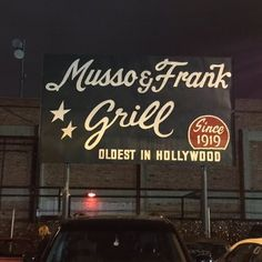 Musso & Frank Grill - Hollywood, CA, United States
