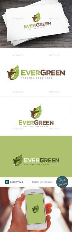 Evergreen II Logo Template