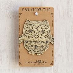 Car Visor Clips: Metal Car Visor Clips From Natural Life
