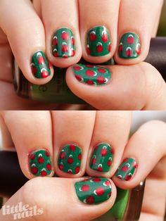 Christmas ornament nails