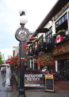 Byward Market in Ottawa - my summer job.  Filled with amazing culture.