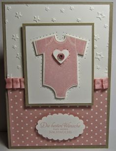 Stampin UP Something For Baby