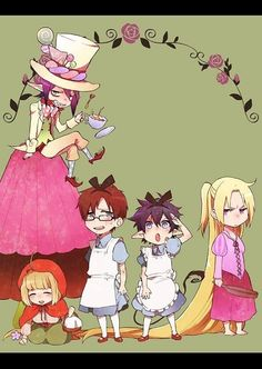 Blue Exorcist ~~~ Fairy Tale Style.