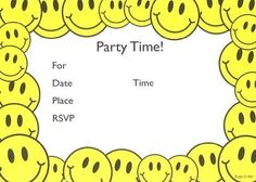 Kids Smiley Face Invitations, Fill-In Style, 8 Pack Lil' ... https://www.amazon.com/dp/B009NSI8TA/ref=cm_sw_r_pi_dp_6lSFxbR3BD3DA