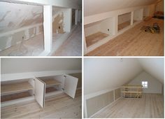 Finished out attic space - by kcrandy @ LumberJocks.com ~ woodworking community