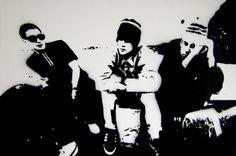 Check your head von toxicstills: Stencils, Cross Stitch, Drawings and artsy stuff auf DaWanda.com