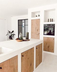 Kitchen Room Design, Home Decor Kitchen, Rustic Kitchen, Interior Design Kitchen, Bathroom Interior, Home Kitchens, Cuisines Design, Home Decor Inspiration, Kitchen Remodel