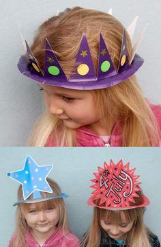 Des chapeaux faciles à faire | La cabane à idées