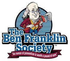 The Ben Franklin Society™ is a plumbing maintenance membership service club that is limited to a select group of our customers.  CLICK HERE FOR MORE INFORMATION