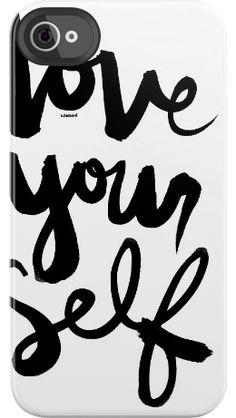 Love Yourself case by Kal Barteski