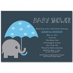 Elephant Baby Shower Ideas