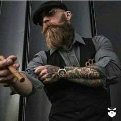 Bad Boy @booze_baccy . . Support this badass Bearded Bad Boy @booze_baccy . . Www.beardedbadboys.com . . #BeardedBadBoys#BBBworldwide#support222#BBB4life#badboy#fashion#yeg#barber#style#tattooed#tattoo#tattooedboys#baddestbeardclub#beardclub#beardgang#brotherhood#family#goodmen#goodpeople#giveback#payitforward#respect#worldwide