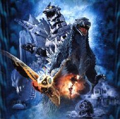 Godzilla and Gojira from Godzilla Final Wars