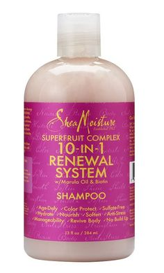Luxe Beauty Supply - Shea Moisture Superfruit Complex 10-In 1 Renewal System Shampoo - 13 oz, $10.99 (http://www.lhboutique.com/shea-moisture-superfruit-complex-10-in-1-renewal-system-shampoo-13-oz/)