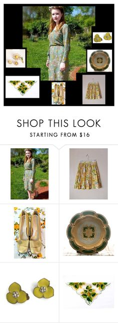 """""""Spring Vintage Fashion"""" by starshinevintage ❤ liked on Polyvore featuring vintage"""