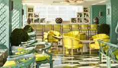 Kelly Wearstler Interior #kellywearstler #green #interior #design