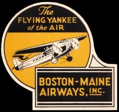 Northeast Airlines - Boston-Maine Airways Central Vermont Airways