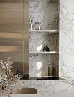 Home Room Design, Kitchen Design, House Design, Apartment View, Kitchen Island Bar, Interior Styling, Interior Design, Classic Architecture, Coastal Homes