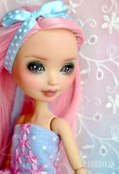 Customized Ever After High doll by UNNIEDOLLS