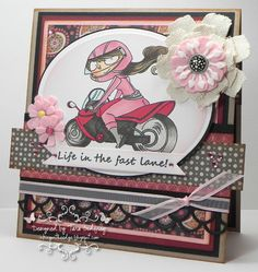 Kraftin' Kimmie Stamps - Klubhouse -Going Places