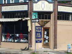 Bryn Mawr Book Store on Huron Avenue in Huron Village, West Cambridge