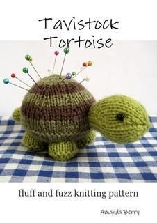Tavistock Tortoise is a cute little knitted friend, and also makes a handy pincushion! If you would like to make your own turtle, the knitting pattern is available from the fluff and fuzz Craftsy store