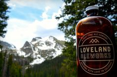 Loveland Aleworks growlette in the Rocky Mountains of Colorado