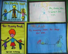 Making our own Mommy and Daddy book inspired by the books of Todd Parr