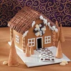 Mini Gingerbread House Recipe from Taste of Home