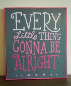 Every Little Thing... by PaintdShabby on Etsy, $25.00
