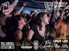 Cartel definitivo y distribución de bandas para el Calella RockFest 2017 con bandas como THE QUIREBOYS, CRAZY LIXX, ULI JON ROTH y muchos más Esta es la distribución por dias de las 8 bandas que tocarán en el Calella Rockfest 2017. El orden de actuación y horario completo se anunciará más...
