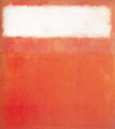 Daily Rothko, White Cloud 1954