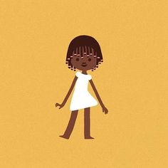 Say hello to Djamila!  Djamila is an 11 year-old girl living in Guinea-Bissau and she is the star of an animation done to help an amazing good cause: to build a school for girls in Africa. Check the campaign in the link on my profile! #africa #fundraising #girlseducation #animation (More coming soon)