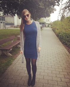Wednesday #ootd dress from @hm ups it has a stain alrdy :D