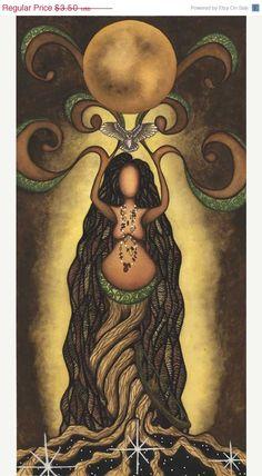 On Sale Artemis Greeting Card by EarthStarStudios on Etsy, $1.75