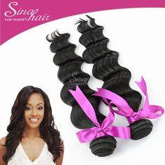 (7oz) Peruvian Loose Wave Virgin Hair Sina Virgin Human Weaves Hair 2pcs lot 100g Bundles 6A Peruvian Virgin Hair loose Wave