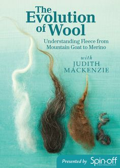 The Evolution of Wool: Understanding Fleece from Mountain Goat to Merino with Judith MacKenzieIn The Evolution of Wool, Judith MacKenzie unlocks the secrets to understanding wool. Textiles Techniques, Fingerless Mitts, Spring Sign, Colorful Socks, Alpaca Wool, Hand Spinning, Knitting Patterns, Knitting Tutorials, Fiber Art