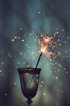 Sparkles at Night