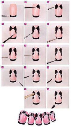 Orchid Nail: Comment faire un joli noeud ?