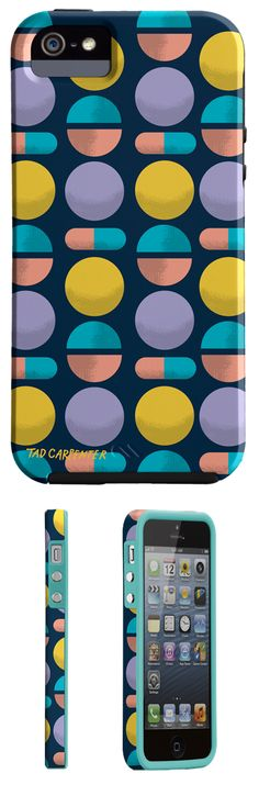 Spring 2013 smart phone cases for Case-mate by Tad Carpenter