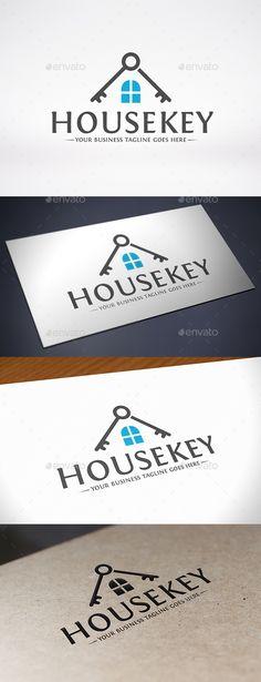 House Key Roof Logo Template: Building Logo Design Template by BossTwinsMusic. Hotel Logo, Logo Restaurant, Restaurant Ideas, Logos, Typography Logo, Logo Design Template, Logo Templates, Building Logo, Real Estate Logo Design
