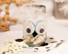 Cute mason jar owl, did these for my baby shower, huge hit :)