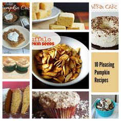 These Pleasing Pumpkin recipes all contain that delicious orange vegetable! The…