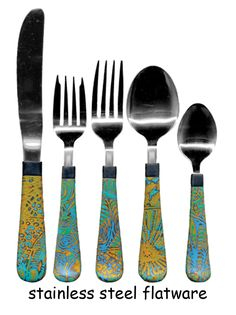 Stainless stell flatware covered in Polymer clay (5 piece place setting). does it hold up in the dishwasher?