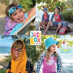 Shop everything you need for a wet and wild summer with Juice Box! Crazy fun towels, goggles and rash guard tees, all UPF50+. Try out our 10L dry bags to keep their stuff safe and protected from sun, sand and water. Pop-up floor displays available! 247dm.com {Sponsored}