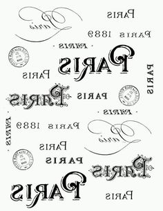 Shabby French Typography Labels and Printable! Graphics Fairy by Diana Dreams Factory. This is a gorgeous Printable with 6 French Labels that can be used on all sorts of DIY Home Decor Projects! Pretty French Jar project is included! Printable Art, Free Printables, Image Paris, French Typography, Foto Transfer, Transfer Printing, Images Vintage, Graphics Fairy, Vintage Labels