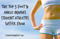Student Athletes   Foot and Ankle Injuries http://www.stopfeetpainfast.com/blog/post/student-athletes-common-sports-injuries-of-the-foot--ankle.html